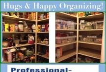 Pretty Pantries Please / Love organizing pantries! Its not only about food, its about being together to chat over dinner.