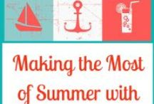 Summer Fun / Summer time and the living and organizing are easy!