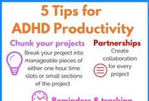 ADD/ADHD Organizing / Tip, tricks and tools for ADHD