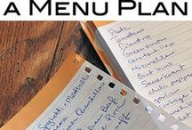 ~ Menus ~ / by Karen S. Cooney