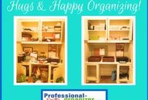 Hugs and Happy organizing! / Happy endings to organizing challenges