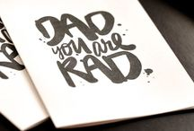 // Father's Day // / DAD: A son's first hero. A daughter's first love. / by Danielle Kirk