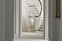 Staircase Ideas / Staircase, banister and railing design, decorating and styling inspiration, tips and trends. Gorgeous interior design photography curated by Arianne Bellizaire.