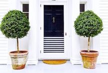 Curb Appeal Ideas / Beautifully appointed exterior home photography  curated by Arianne Bellizaire. Major curb appeal here!