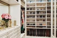 Closet Ideas / Luxury closet design, decorating and styling inspiration, tips and trends. Gorgeous interior design photography curated by Arianne Bellizaire.
