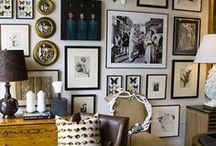 Wall Decor / Wall art design, decorating and styling inspiration, tips and trends. Gorgeous interior design photography curated by Arianne Bellizaire.