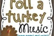 Music Ed: Thanksgiving / by Kelli Anderson