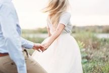 || PHOTO STYLE || / Clothing and outfit ideas for couples who are planning their engagement sessions.