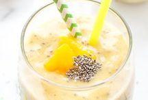 Smoothies ☀︎ / Yummy & healthy smoothies recipe ideas. :)