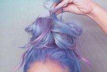 Rysujemy włosy - inspiracje