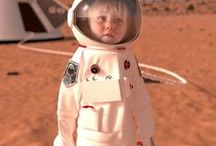Space Baby - Images by WS / Space X plan to start manned missions to Mars as soon as 2022. As humans explore more of the solar system and distances and travel time increase what will life be like for the next generation of space explorers?