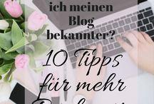 Blog / Infos, Ideen und Tipps zum Bloggen