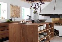 """Küchen / Küchenideen, ein bisschen boho, ein bisschen scandinavian. Bloß nicht zu """"clean"""", ich meine den Style, nicht die Küche selbst! Meine Pinwand!"""