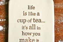 Tea's and brews
