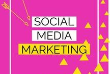 Social Media Marketing / Social media marketing strategy tips for business ❤ How to use Pinterest, Instagram, Facebook, Twitter for your 2017/2018 campaigns ❤ Photography tips and ideas ❤ Tools to help you schedule your content ❤ Quotes, infographics and calendars ❤ Logo design inspiration and post templates ❤