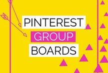 Pinterest Group Boards / How to use Pinterest group boards to grow your traffic. Best group boards to join for bloggers. How to use a manual pinning strategy to grow Pinterest.