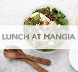 Lunch at MANGIA / lunch, Italian food, soups, sandwiches