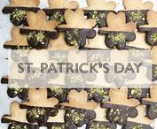 St. Patricks Day / Legend has it that the very rare four leaf clover represents good luck. Each leaf of the clover represents faith, hope, love, and luck. Even if you're not Irish, you can still indulge in the spirit of the holiday, which is widely celebrated in the city. A quick and festive dessert is the #MANGIA #Shamrock Ganache Dipped Sugar Cookie. If you're feeling lucky try out our recipe and if not every #MANGIA location has them on hand. Share the luck with your family and friends!