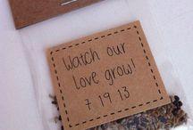 Gastgeschenke für die Hochzeit / Liebevoll selbstgemachte Kleinigkeiten und Geschenke für eure Gäste.