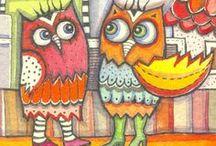 Owls / by Mirjam Schurings