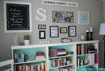 Ideas for my new craft room / by Angie Shafer-Jarman