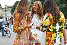 Fashion Makes the World Go Round / by Amanda C .