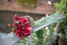 Wedding Flowers - Reds