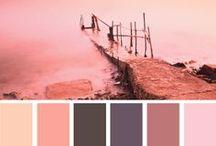 Color Palettes / color schemes - couleurs - esquemas de color - combinazioni di colori / by Marianne de Bourg
