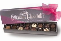 Chocolate Truffles Gift Boxes / Decadent chocolate truffles handmade from the best ingredients. So many delicious flavors to choose from! Raspberry, Praline Truffle, Dark Chocolate, Milk Chocolate, White Chocolate, Champagne, Marzipan, Mocha, Buttercream...