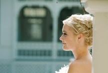 Bridal hair / some of our beautiful brides!