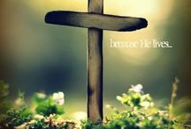 {Easter} / Death is conquered, man is free ... Christ has won the victory.