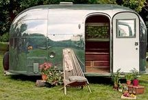 Tiny Trailers / I am fascinated by tiny trailers in charming settings. / by Tom Gniech
