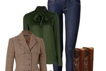 Fall/Winter Clothes / by Brooke Woodard