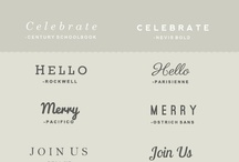 Fonts / by Carissa from {Carissa Miss}
