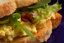 {Sandwiches Recipes} / ~ Let me count the ways.. So so many things     to put between 2 slices of bread ~