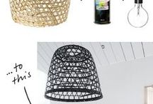 DIY: Lamps / by Marianne de Bourg