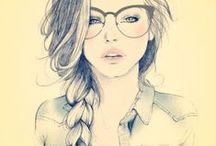 Glasses Illustrations