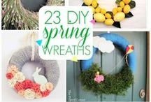Spring and Easter / All things Spring and Easter; DIY, crafts, decor, activities