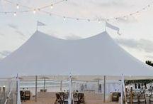 Seaside Wedding Inspiration / wedding inspiration for a classic, elegant oceanfront wedding