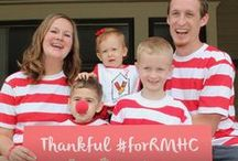 Share Your Stripes #forRMHC / How can you support RMHC? By wearing our red and white stripes and posting your photos #forRMHC! Get inspired and wear your stripes today!