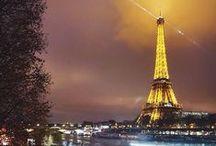 Francophile / France, je t'aime! / by Brooke Woodard