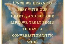 {Pray for one another}
