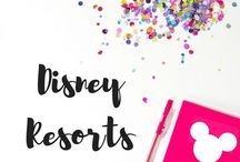Disney Resorts / Your guide to Disney Hotels and Resorts! Where you should stay when you're headed to Disney!
