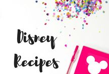 Disney Recipes / Disney inspired recipes for you to make when you're away from the Happiest Place on Earth!