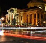 Palermo, Sicily, Italy / Notturno sulla mia città