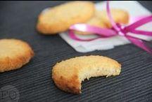 weinig ingridiënten / koekjes, cakjes, taarten met weinig ingridiënten