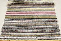 Räsymatot / Idea kuvia Helsingin suomenkielisen työväenopiston kudonnan kurssille Kudo matto ja sisustustekstiili H170416.  Kurssilla opitaan loimen rakentamista ja kutomista.