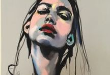 Fine Arts / Drawing / Sketches /  Watercolor illusrations /  Painting  / Sculptue
