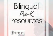 Bilingual Pre-K Resources / You'll find a variety of activities,resources and ideas related to dual/bilingual Pre-kindergarten students.