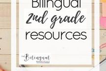 Bilingual 2nd grade Resources / You'll find a variety of activities,resources and ideas related to dual/bilingual 2nd grade students.
